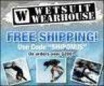Wetsuit Wearhouse coupons and coupon codes