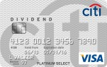 Citi® Dividend Platinum Select® Visa® Card - Earn $100 cash back after $500 in purchases within the first 3 months of account opening