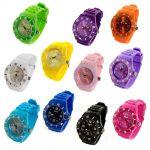 Fashion Unisex Gel Analog Wrist Sports Watch $4.49