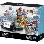 Wii U 32GB Black Deluxe Set w/ Super Mario 3D World & Nintendo Land $270