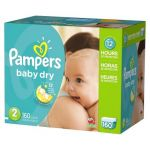 3 Pampers or Huggies Giant Pack Diapers + $25 Target Gift Card $105