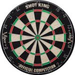 GLD Shot King Bristel Dartboard $13.33