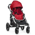 Baby Jogger City Select Silver Frame Stroller (Ruby) + Free 2nd Seat (a $170 value) $428
