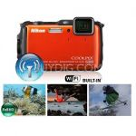 Refurbished Nikon AW120 1080p Waterproof Digtal Camera + Lightroom 5 $200