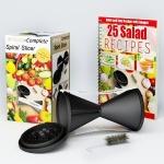Premium Spiral Vegetable Slicer Spiralizer $0.90
