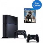 PS4 Console Solution Bundle with Choice Game and Extra Controller $459