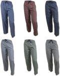 6-Pairs Andrew Scott Men's Woven Plaid Lounge Pants (S, M, L & XL) $30