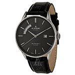 Edox Men's Les Vauberts Day Date Automatic Watch $428