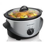 Hamilton Beach 4 qt. Stainless Steel Slow Cooker $10