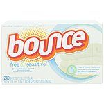 240-Count Bounce Fabric Softener Sheets $7.60 + FS