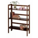 3 Tier Folding And Stackable Shelf Wide WD-94896 by Winsome Wood $9