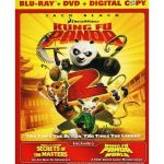 Kung Fu Panda 2 with (Secrets of the Masters) [Blu-Ray + DVD] $7.88
