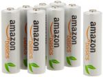 AmazonBasics AA Rechargeable Batteries (8-Pack) Pre-charged $13.97