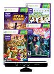 Xbox 360 Kinect Sensor + 4 Select Pre-Owned Games $30