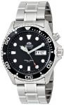 "Orient Men's EM65008B ""Ray"" Stainless Steel Automatic Watch $103"