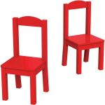 Tot Tutors Wooden Chairs, Set of 2, Multiple Colors $15 (was $40)