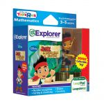 LeapFrog Explorer Game: Disney Jake and the Never Land Pirates $10