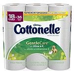2-Pk of 18-Ct Cottonelle Double Roll Toilet Paper + $5 Target Gift Card $18.60 & More + pickup