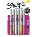 6-Pack Sharpie Metallic Permanent Markers $3