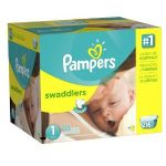 Buy 1 box of Pampers diapers, Get a $10 Amazon Gift Card