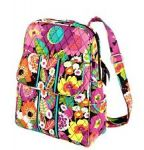 Up to 75% Off Vera Bradley Sale: Backpack $30, Bowler $20, Laptop case $13 and more