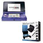 Nintendo 3DS Console + 20 in 1 Essentials Kit Bundle $130