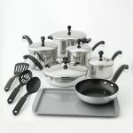 Farberware Classic Series 15-pc. Stainless Steel Cookware Set $38 (AR)