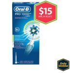 Oral-B PC 1000 Electric Toothbrush Pack $14.99 (AR) and more