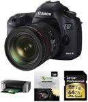 Canon 5D Mark III DSLR Camera + 24-105mm IS Lens + Printer $3099 AR & more