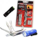 GearXS Tool Solutions 13-Function Handy Pocket Tool w/ 9 LED Flashlight $8.49