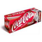 12-pack of Coca-Cola for 30 points, Limit 4