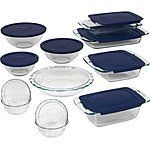 Pyrex 19 Piece Bake and Store Set $30