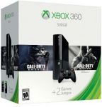 Xbox 360 500GB Holiday Value Bundle with Call of Duty $179