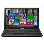 """ASUS 15.6"""" Laptop Celeron N2830 4GB/500GB, 15.6"""" 1366x768 $199"""
