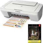 Canon MG2520 All in one Inkjet Printer + Adobe Photoshop Lightroom 5 $59