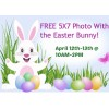 Free 5x7 Photo with the Easter Bunny at Walmart