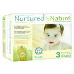 Nurtured By Nature Diapers as low as 8cents with Amazon mom S&S and Coupon