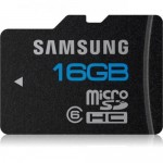 Samsung High Speed 16GB microSD Class 6 Waterproof and Shockproof Memory Card $7