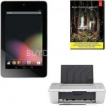 Asus Nexus-7 32GB + Photoshop Lightroom 5 + Deskjet 1010 Inkjet Printer $180