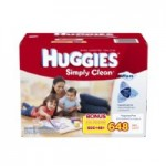648-Ct Huggies Simply Clean Fragrance Free Baby Wipes Refill $10.35