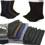 5 Pairs John Weitz Men's Platinum Collection Dress Socks $5