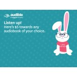 Audible - $5 credit