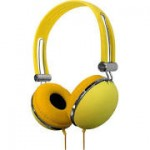 Vibe Sound DJ Style Soft Touch Vintage Design Headphones $5