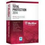 McAfee Total Protection 2014 (3 PCs) + $50 Dell eGift Card $25