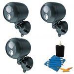 Mr Beams Wireless LED Spotlight w/ Motion Sensor 2-pk $27, 3-pk $33