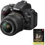 Nikon D5200 DSLR Camera w/18-55mm VR Lens (Refurbished) + Adobe lightroom 5 $430