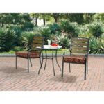 Mainstays 3-Piece Outdoor Bistro Sets $79 at Walmart