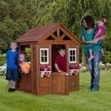 Backyard Discovery Timberlake Cedar Wooden Playhouse $195