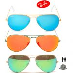Ray Ban RB3025 Large Aviator Sunglasses $80