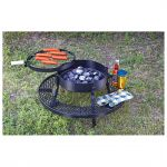 Texas BBQ Charcoal Pit Grill $36 shipped